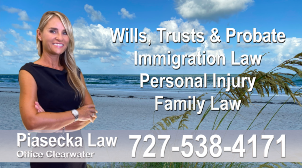 Attorney Lawyer in Florida Polish speaking Wills and Trusts Family Law, Auto Accidents, Personal Injury, Immigration - Green Card