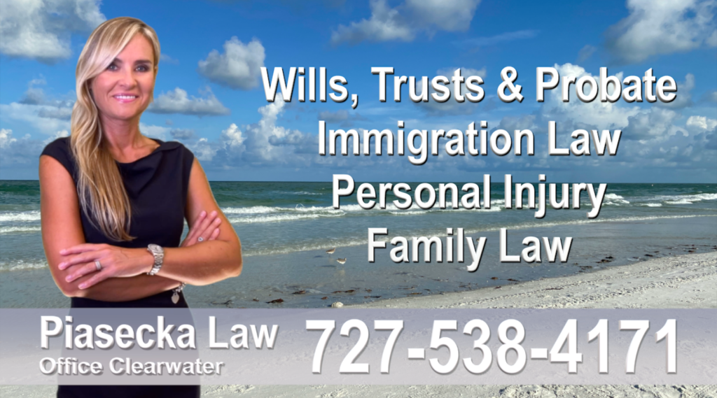 Polish Attorney Lawyer in Florida Polish speaking Wills & Trusts Family Law Personal Injury Immigration
