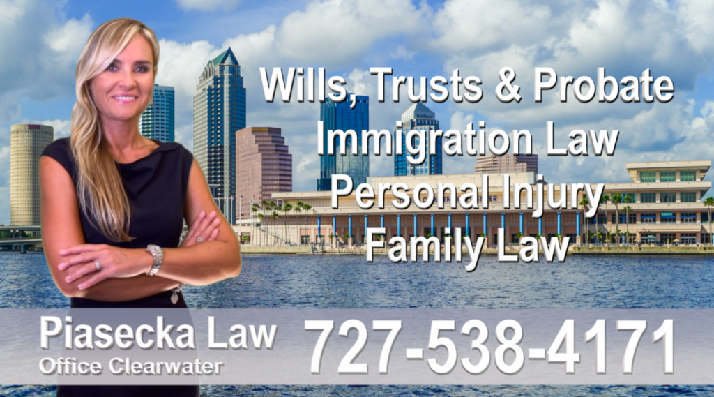 Tampa Bay Polish Attorney Lawyer in Florida Polish speaking Wills and Trusts Family Law, Auto Accidents, Personal Injury, Immigration - Green Card
