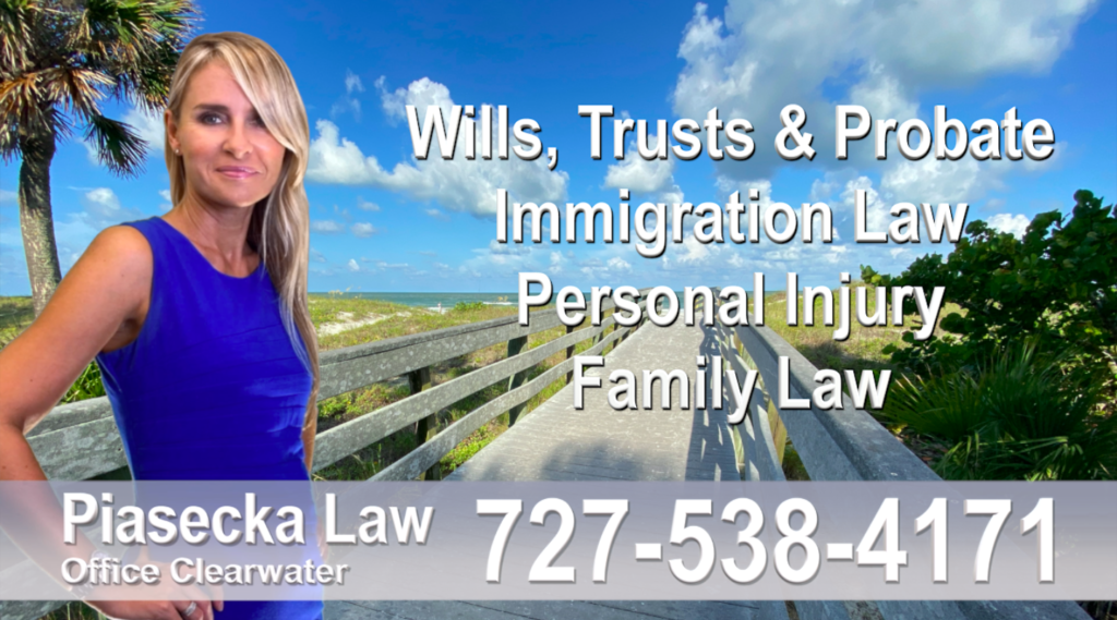 blue Polish Attorney Lawyer in Florida Polish speaking Wills and Trusts Family Law, Quitclaim Deed, Personal Injury Immigration